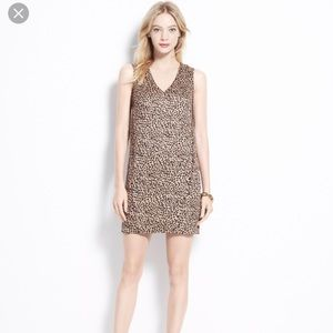 Ann Taylor Cheetah print Cocoon dress, XS